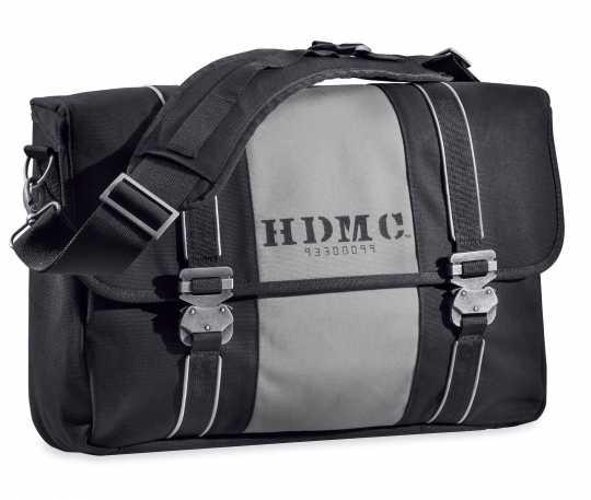 Harley-Davidson HDMC Kuriertasche, schwarz & silber  - 93300099
