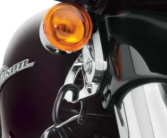 Harley-Davidson Halterungen für Spanngurte chrom  - 93500011