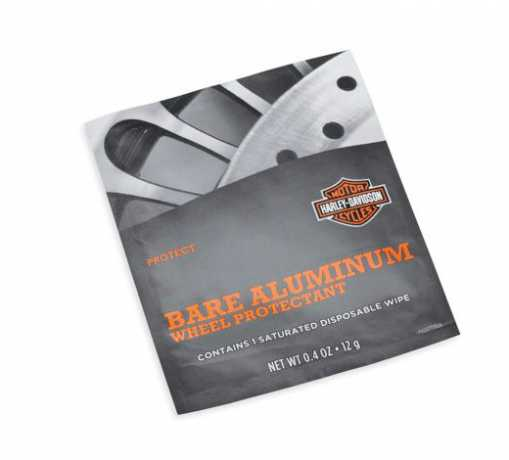 Harley-Davidson Bare Aluminum Wheel Protectant Wischtuch  - 93600063