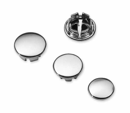 "Harley-Davidson Allen Hole Plugs for 1/4"" chrome (10)  - 94130-93T"