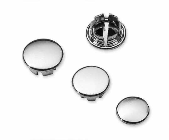 "Harley-Davidson Allen Hole Plugs for 3/8"" chrome  - 94132-93T"