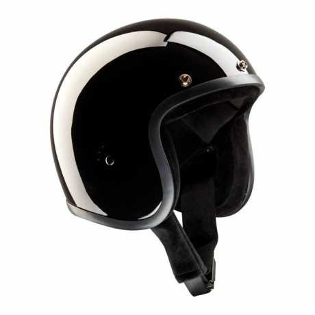 Bandit Bandit Jet Helm schwarz glänzend  - 947225V