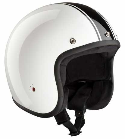 Bandit Bandit Jet Helm Classic weiss & schwarz ECE  - 947296V