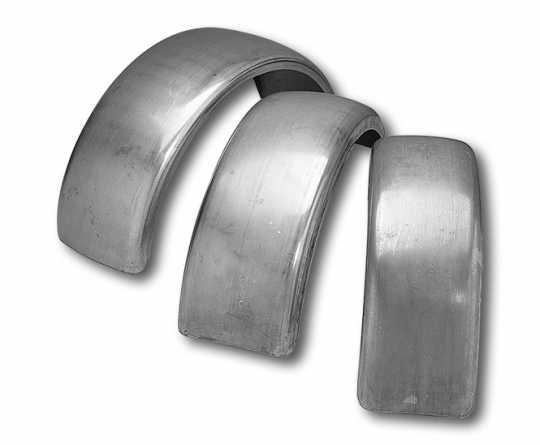 Custom Chrome Breite Schutzblech Rohlinge für Starrahmen  - 95-073V