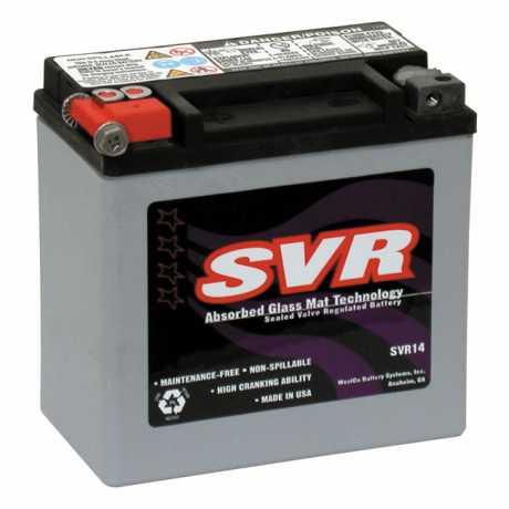 SVR SVR AGM Battery 14Ah 220CCA  - 958011
