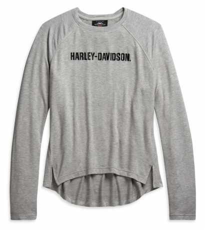 H-D Motorclothes Harley-Davidson Damen Longsleeve grau meliert  - 96009-21VW