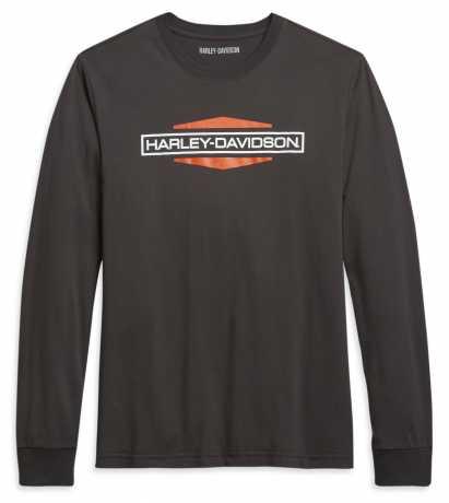 H-D Motorclothes Harley-Davidson Men's Longsleeve Shirt Stacked Logo  - 96022-21VM