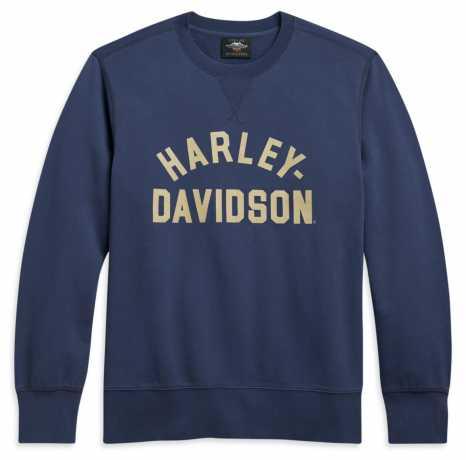 H-D Motorclothes Harley-Davidson men´s Stack Logo Pullover Blue  - 96098-21VM