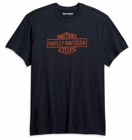H-D Motorclothes Harley-Davidson Men's Vintage T-Shirt black  - 96114-21VM