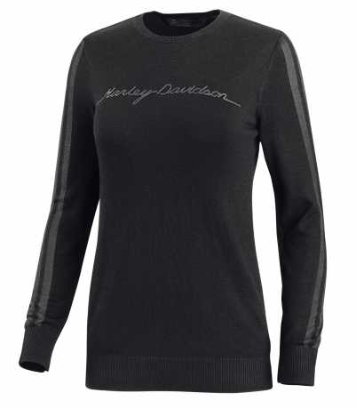 Harley-Davidson Damen Sweatshirt Sheer Stripe Wool-Blend