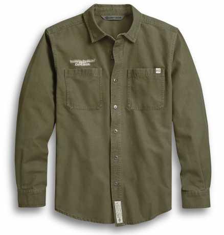 H-D Motorclothes Harley-Davidson Shirt #1 Skull green  - 96242-20VH