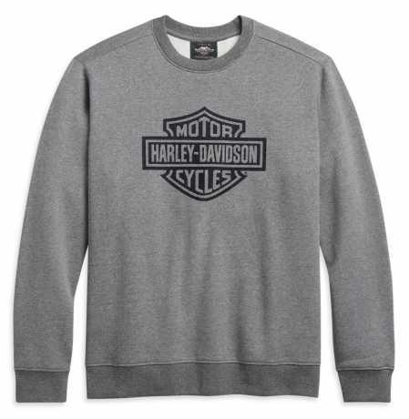 H-D Motorclothes Harley-Davidson Sweatshirt Bar & Shield grau  - 96252-21VM