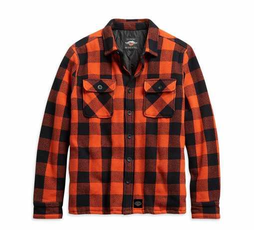 H-D Motorclothes Harley-Davidson Men's Vintage Plaid Shirt Jacket  - 96262-21VM