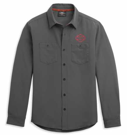 H-D Motorclothes Harley-Davidson Shirt HDMC Logo grey  - 96341-21VM