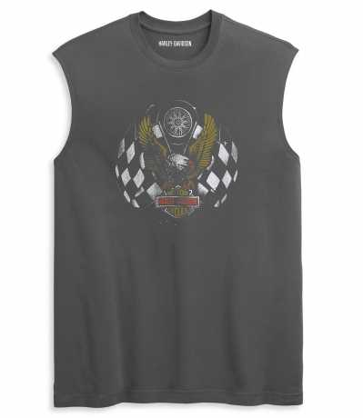 H-D Motorclothes Harley-Davidson Shirt Race Eagle ärmellos L - 96346-21VM/000L