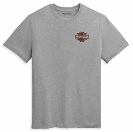 H-D Motorclothes Harley-Davidson T-Shirt Double Bar & Shield grey  - 96353-21VM