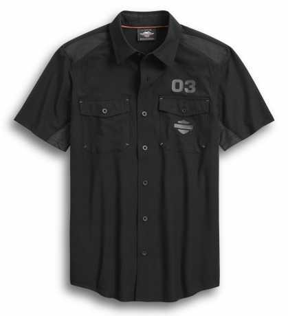 H-D Motorclothes Harley-Davidson Shirt 03 black  - 96370-20VM