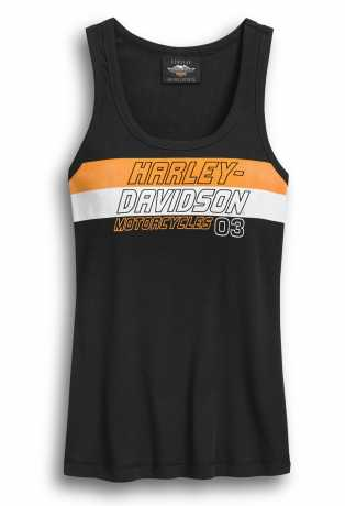 H-D Motorclothes Harley-Davidson Tank Top Stripe black  - 96400-20VW