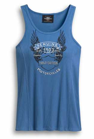 H-D Motorclothes Harley-Davidson Tank Top Genuine Motorcycles blue  - 96403-20VW