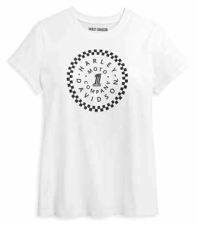 H-D Motorclothes Harley-Davidson women´s T-Shirt #1 Circle Graphic white L - 96406-21VW/000L