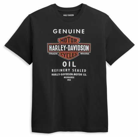 H-D Motorclothes Harley-Davidson T-Shirt Genuine Oil schwarz L - 96416-21VM/000L