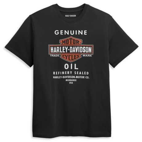 H-D Motorclothes Harley-Davidson T-Shirt Genuine Oil schwarz  - 96416-21VM