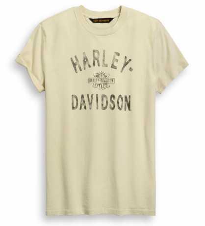 H-D Motorclothes Harley-Davidson T-Shirt Sprayed Print Off-White  - 96429-20VM