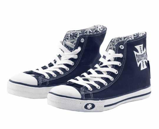 West Coast Choppers West Coast Choppers Sneaker Warrior hoch, navy blau  - 957577V