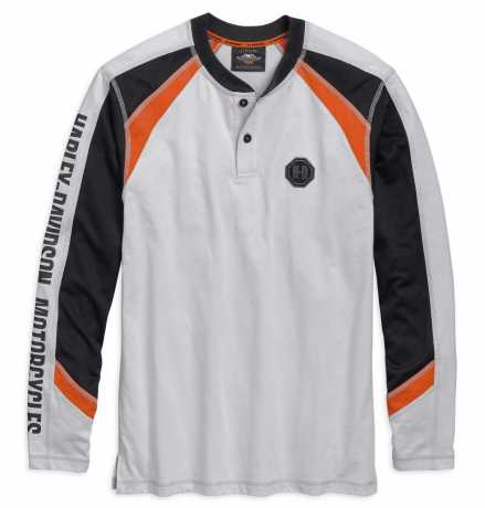H-D Motorclothes Harley-Davidson Longsleeve Graphic Henley  - 96784-19VM