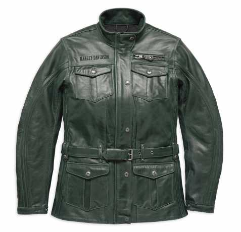 H-D Motorclothes Harley-Davidson Endure 3/4 Leather Riding Jacket  - 97000-18EW