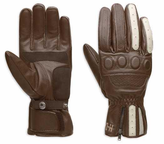 97353 17em harley davidson handschuhe dash braun ece im. Black Bedroom Furniture Sets. Home Design Ideas