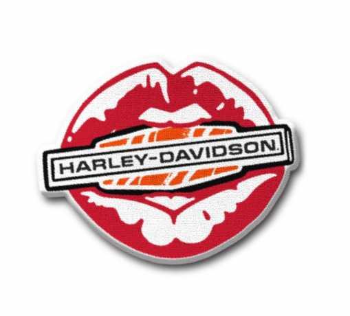 H-D Motorclothes Kiss Harley Bügel-Aufnäher  - 97646-21VX