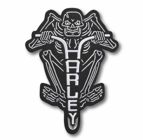 H-D Motorclothes Harley-Davidson H Bar Rider Bügel-Aufnäher groß  - 97664-21VX