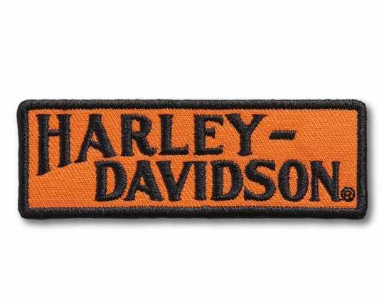 H-D Motorclothes Harley-Davidson Racer Tank Logo Small Bügel-Aufnäher  - 97667-21VX