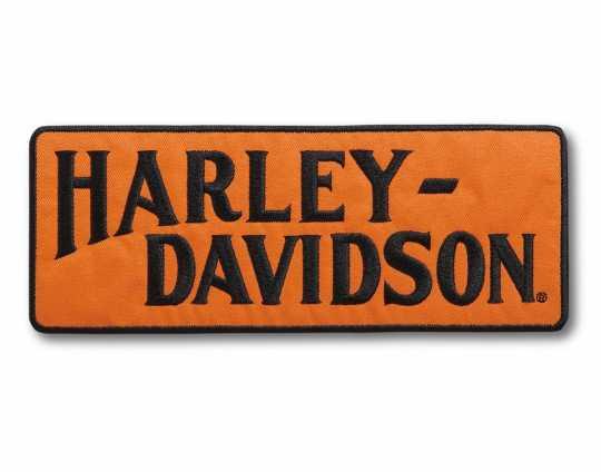 H-D Motorclothes Harley-Davidson Racer Tank Logo Large Iron-On Patch  - 97668-21VX