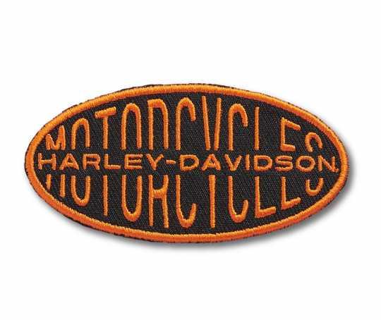 H-D Motorclothes Harley-Davidson Oval Lock-up Bügel-Aufnäher  - 97672-21VX