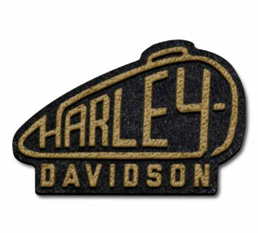 H-D Motorclothes Harley Tank Large Iron-On Patch  - 97673-21VX