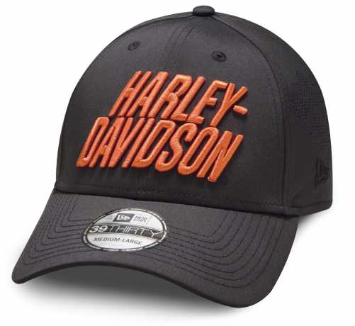 H-D Motorclothes Harley-Davidson Baseball Cap Laser Perf 39THIRTY  - 97856-19VM