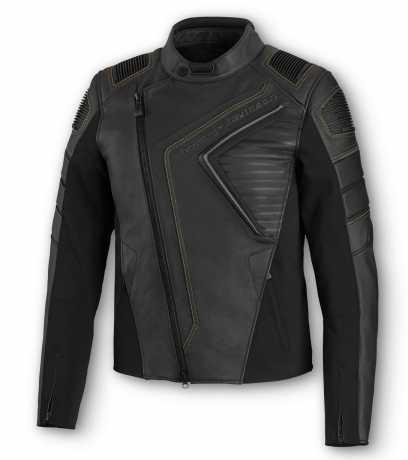 H-D Motorclothes Harley-Davidson Men's Watt Leather Jacket ECE  - 98002-20EM