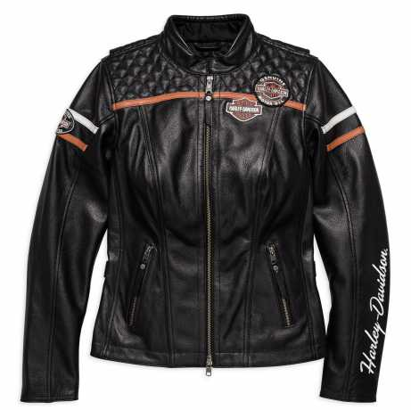 H-D Motorclothes Harley-Davidson Leather Jacket Miss Enthusiast  CE XL - 98030-18EW/002L