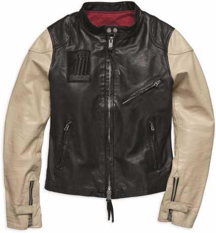 H-D Motorclothes Harley-Davidson Damen Lederjacke Pushrod M - 98034-18VW/000M