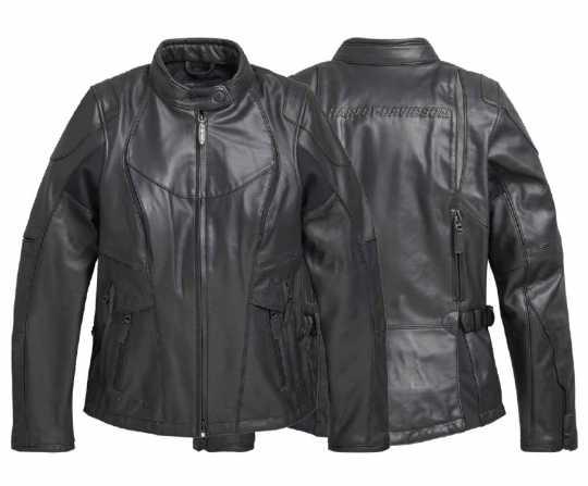 H-D Motorclothes Harley-Davidson Damen Lederjacke FXRG Triple Vent Waterproof  - 98039-19EW