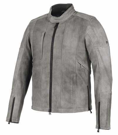 H-D Motorclothes Harley-Davidson Lederjacke Burghal grau  - 98061-19EM
