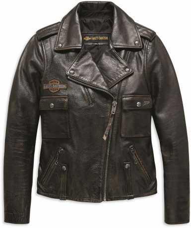 H-D Motorclothes Harley-Davidson Damen Lederjacke Eagle Distressed M - 98076-19VW/000M
