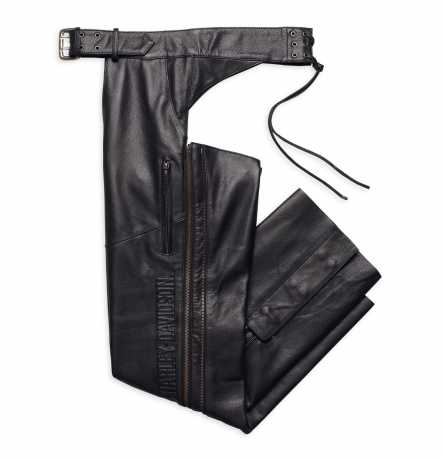 H-D Motorclothes Harley-Davidson Deluxe Leather Chaps  - 98100-16VM