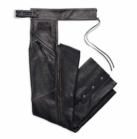 H-D Motorclothes Harley-Davidson Distressed Leather Chaps  - 98102-16VM