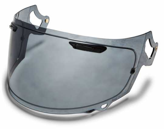 H-D Motorclothes Defiant-X/Renegade-V/XD Replacement Face Shield dark smoke  - 98110-19VR
