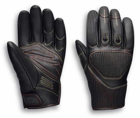 H-D Motorclothes Harley-Davidson Men's Watt Leather Gloves  - 98121-20EM