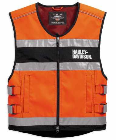 H-D Motorclothes Harley-Davidson Vest Hi-Visibility Reflective orange  - 98157-18EM