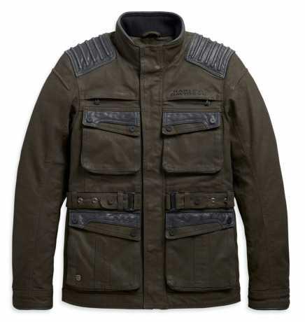 H-D Motorclothes Harley-Davidson Trego Riding Jacket Textile, Dark Green  - 98166-20EM